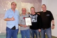 Hubert,Norbert,Michael,Holger-im-Dojo_web